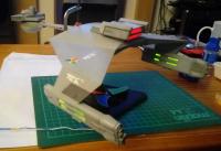 Revell Klingon D7: Nearing Completion