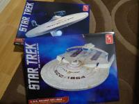 Revell USS Enterprise and USS Reliant Boxed